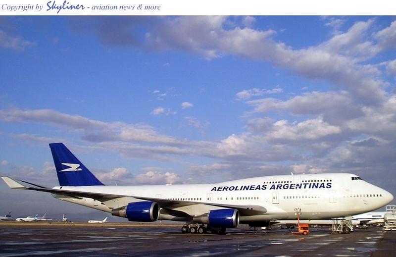 First Aerolineas Argentinas 747-400